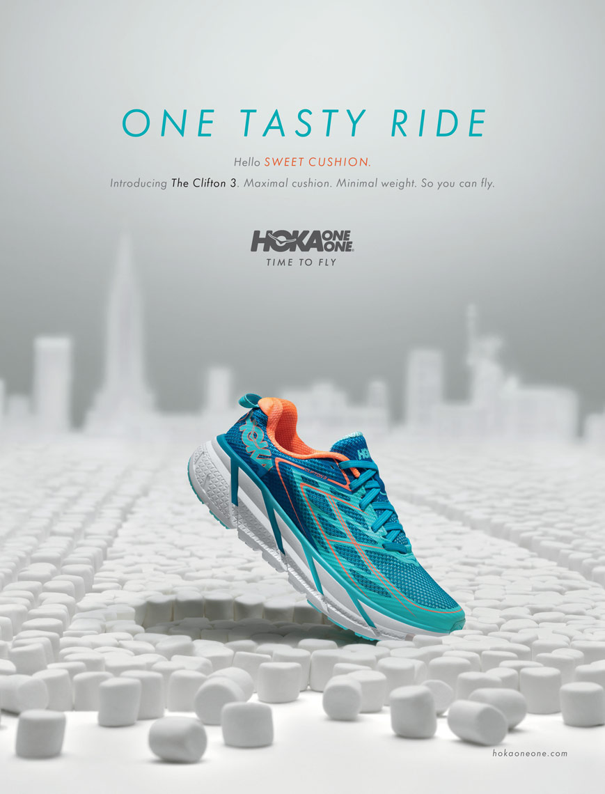 hoka clifton one tasty ride NYC