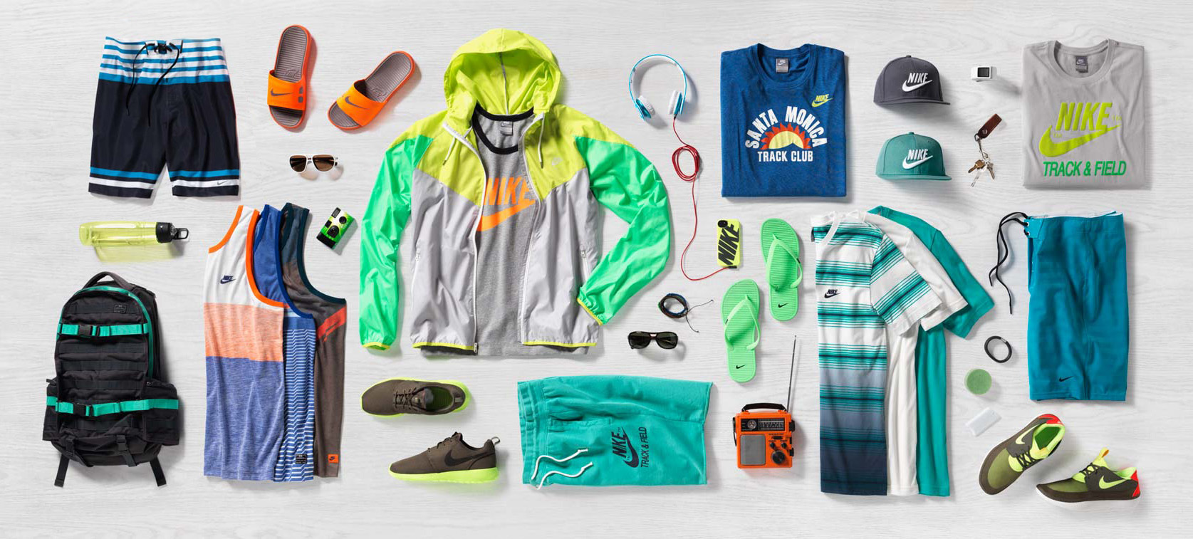 summer nike apparel for kids