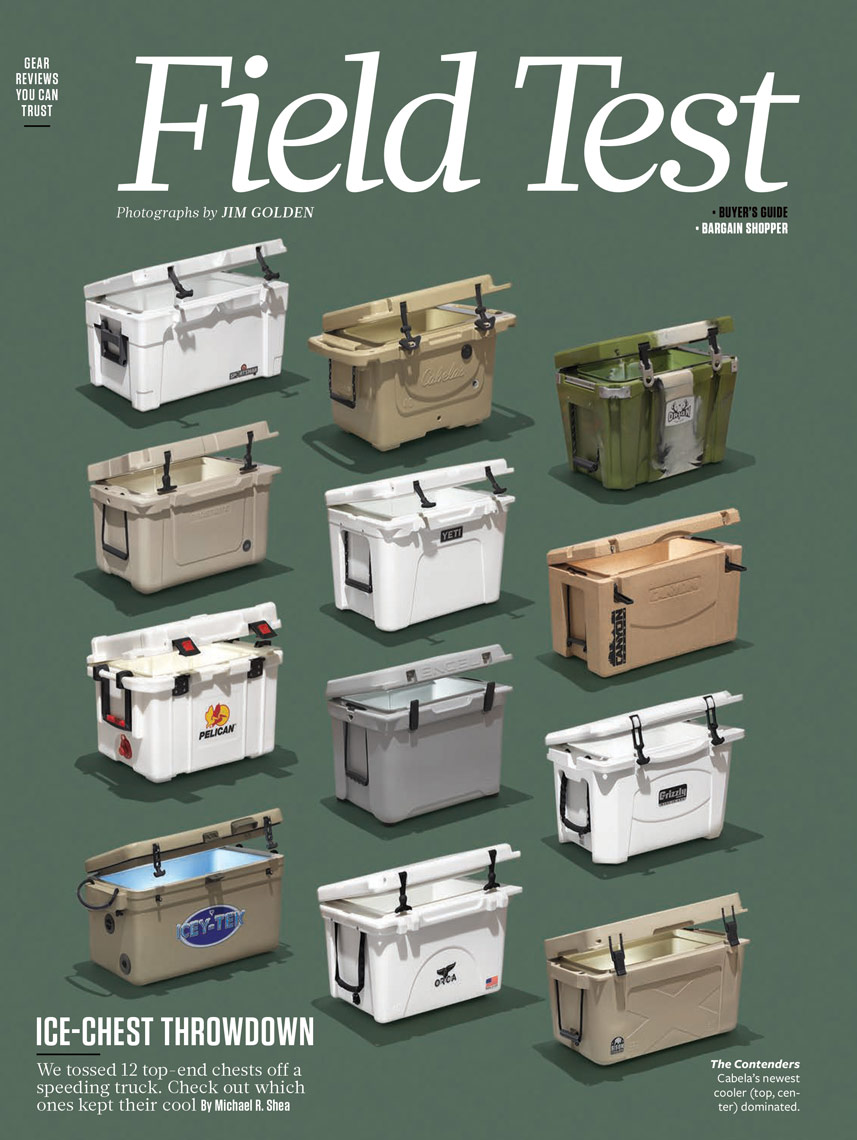 field and stream magazine cooler shootout