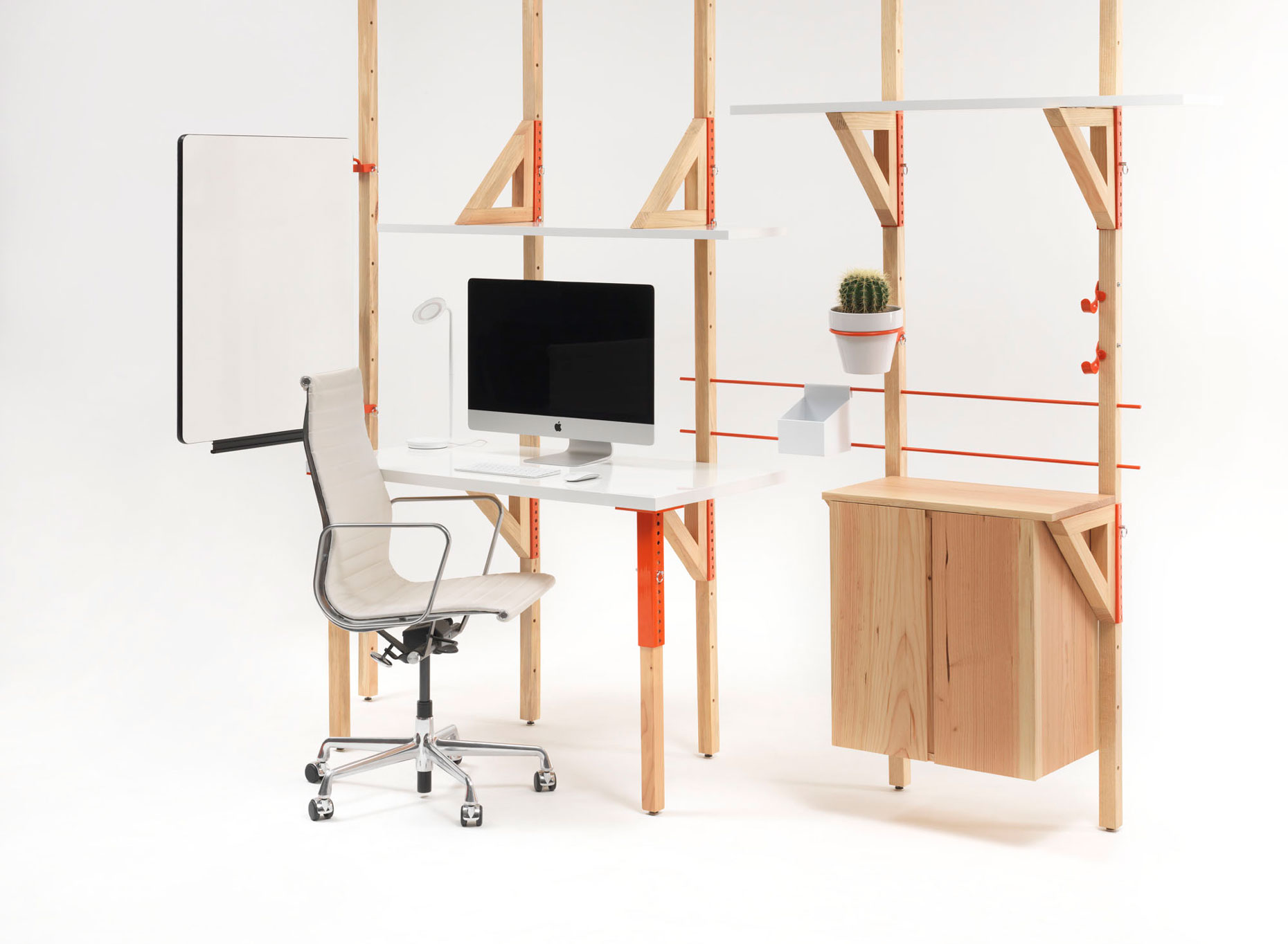 modular desk system practical application